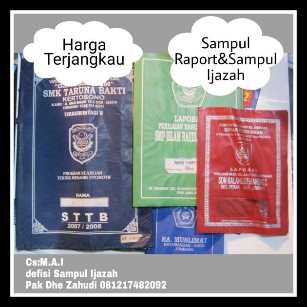 Sampul Raport dan Sampul Ijazah