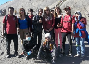 FOTO BERSAMA HOLIDAY TRIP TO BROMO 2013 7