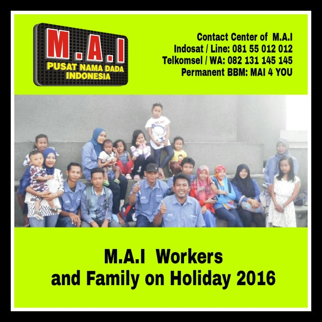 MAI Workers on holiday 2016