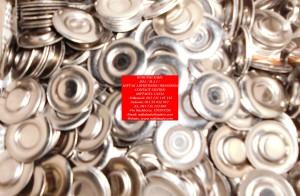 PLAT STAINLESS BUAT TEMPAT MAGNET PIN (3)