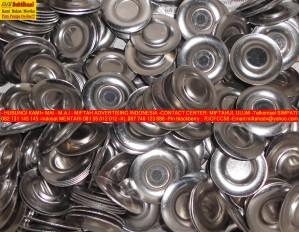 PLAT STAINLESS BUAT TEMPAT MAGNET PIN (4)