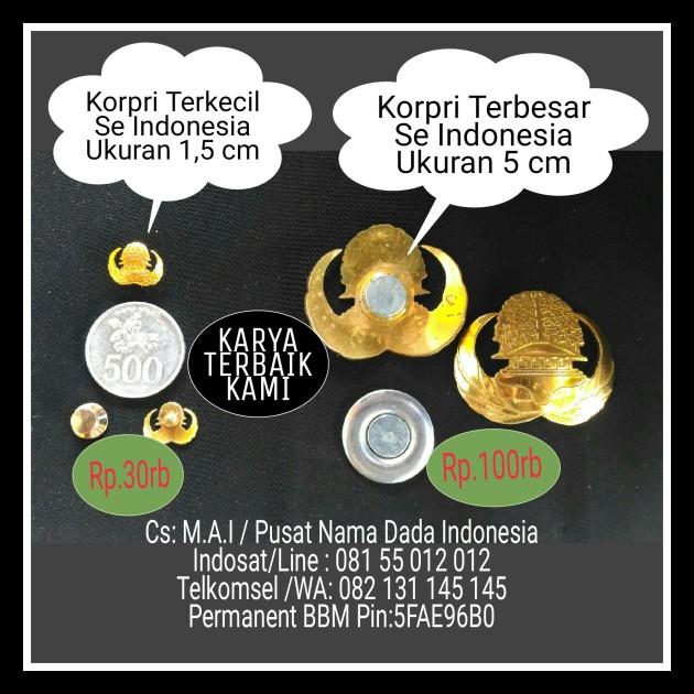 HARGA KORPRI TERKECIL DAN TERBESAR SE INDONESIA,KARYA KAMI