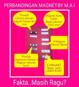 Magnet name tag/ nama dada