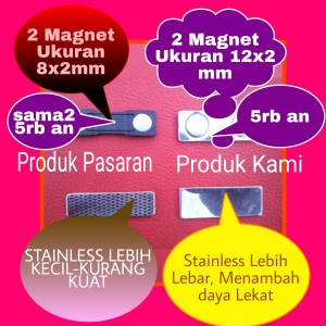 Magnet Nama dada Kami