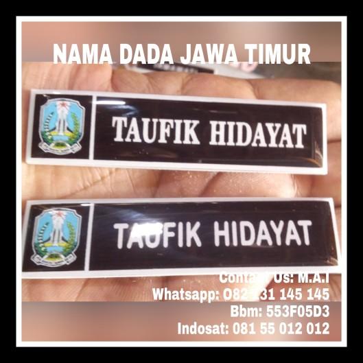 NAME TAG JAWA TIMUR