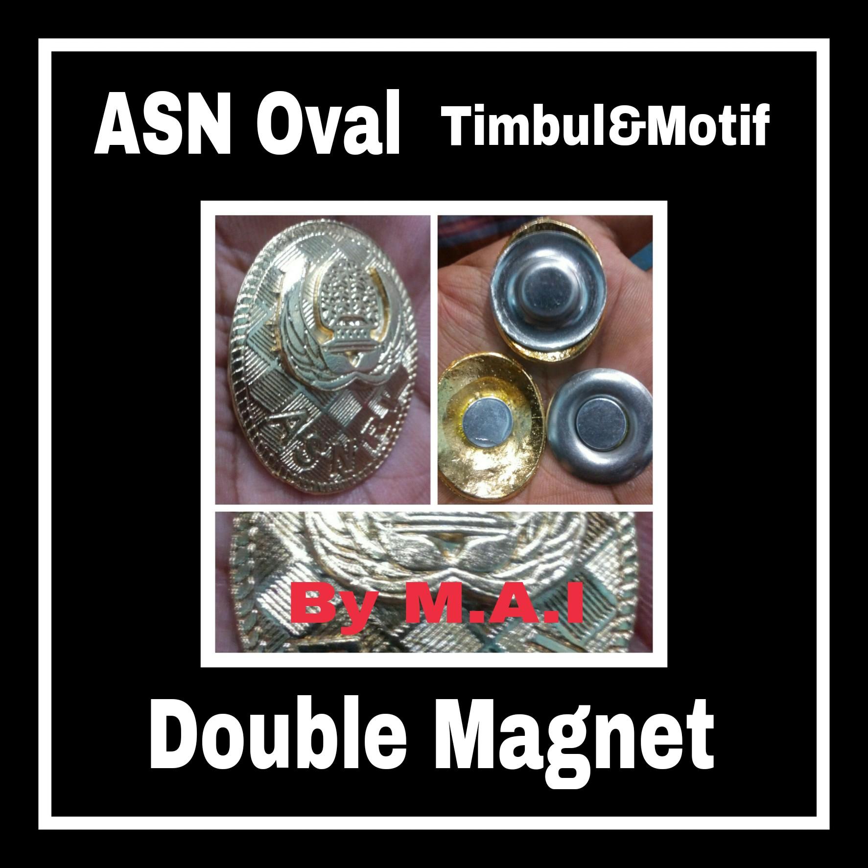 ASN Oval Timbul