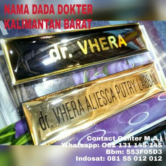 Nama dada dokter Kalimantan barat