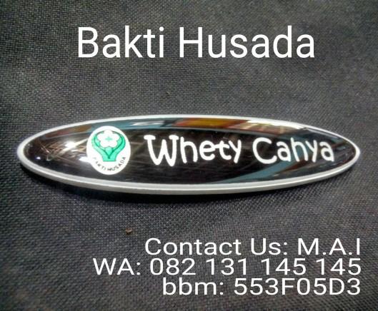 Bhakti Husada Name tag