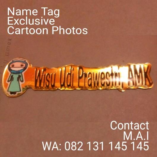 Cartoon Photo name Tag