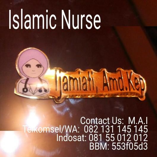 Islamic Nurse Badge Name