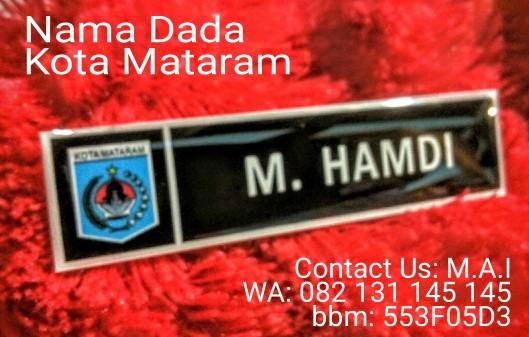 Nama dada Kota Mataram