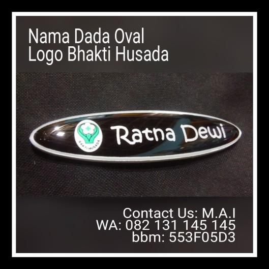 Nama Dada Oval Logo Bhakti Husada