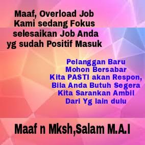 Sedang Overload Job