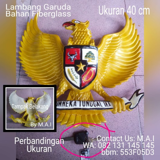 tmp_3993-Lambang Garuda untuk Ruangan Kantor1569847544