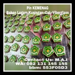 tmp_4054-PIN kEMENAG logam kuningan dengan cat dan lapisan viberglass-1787590144
