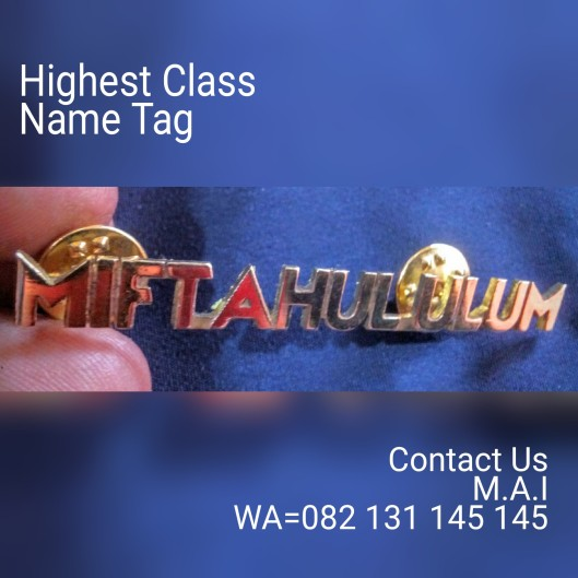 Highest Class Name Tag