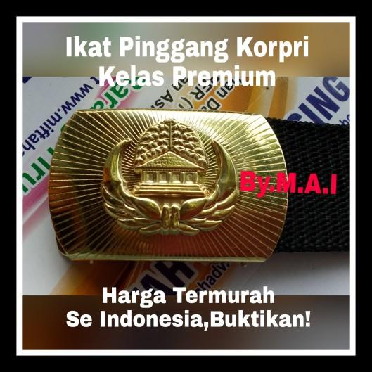 Ikat Pingang Korpri Kelas Premium,termurah se Indonesia