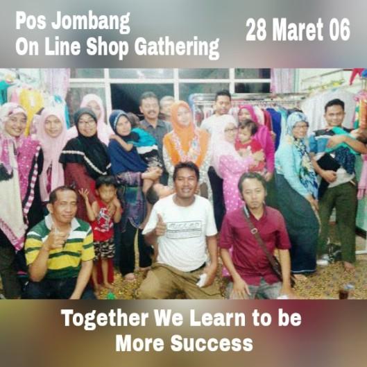 Pos Jombang On line shop Gathering