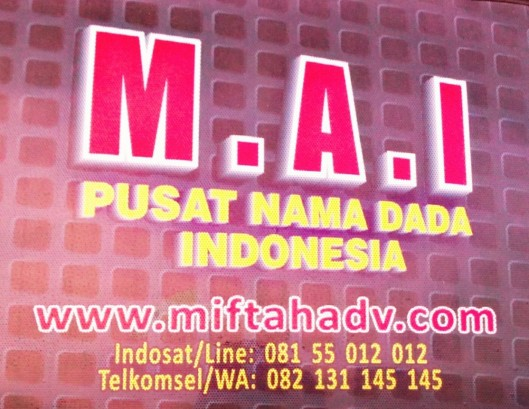 Logo Utama unt watermark of M.A.I