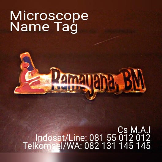 Microscope Name tag
