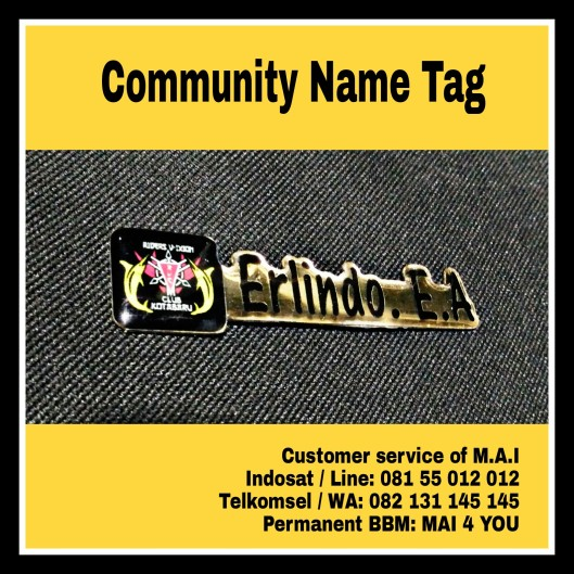 Community name tag