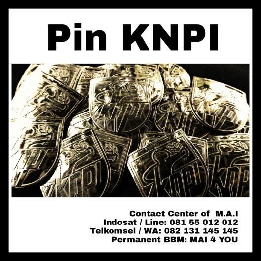 KNPI, Pin Logam Kuningan