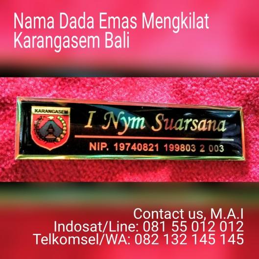 Nama Dada Emas Mengkilat Karangasem Bali