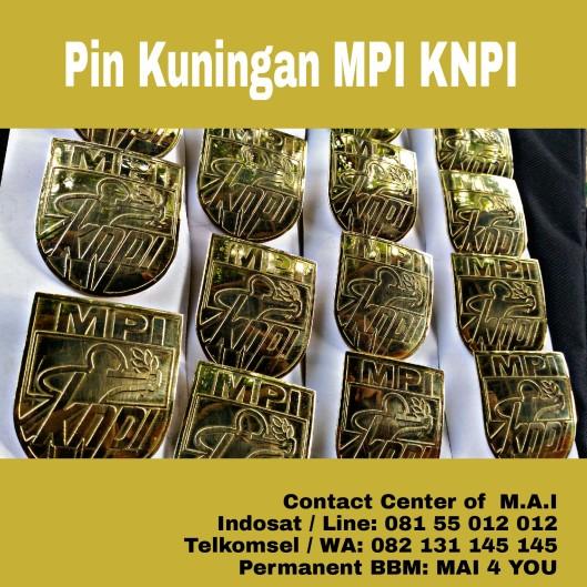 Pin Kuningan PMI KNPI