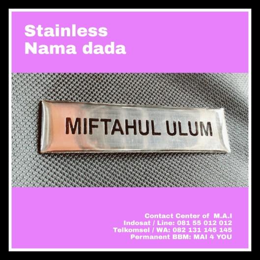 Stainless nama dada