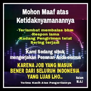 Telat Membalas,Konsumen seluruh Indonesia
