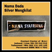 M.A.I warna silver mengkilat