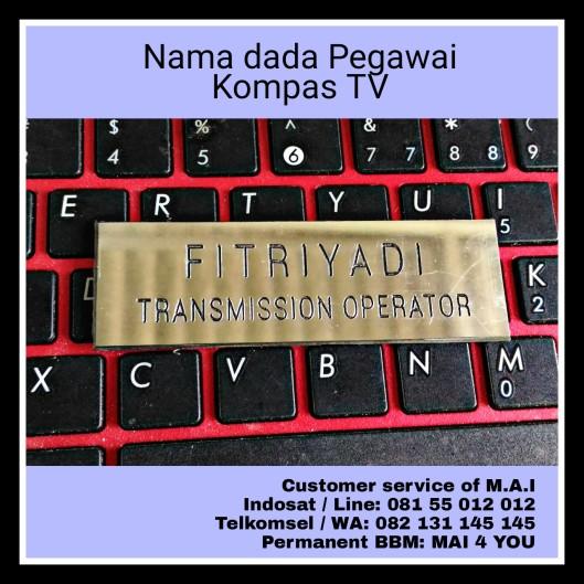 Nama dada Gravir, Pegawai Kompas Tv