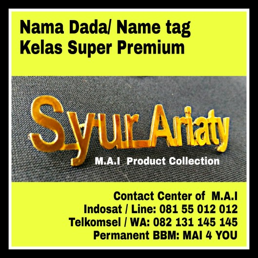 Name tag Premium Super