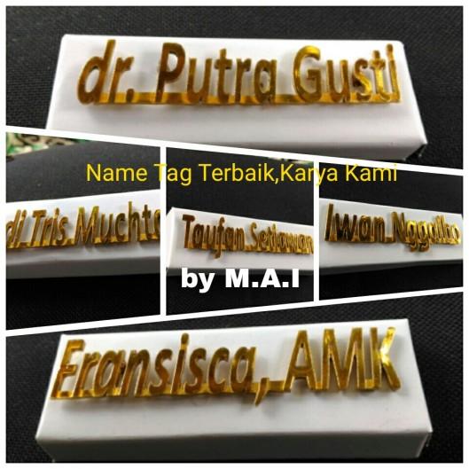 Name Tag Terbaik,Karya Kami