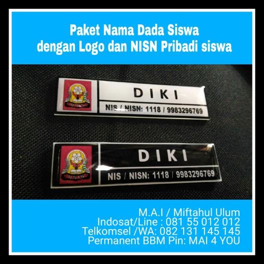 Paket Nama dada Siswa nis &NISN