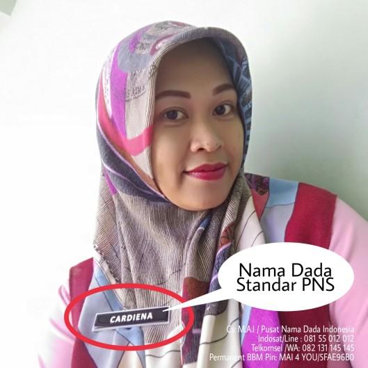 Nama dada Standar PNS Indonesia