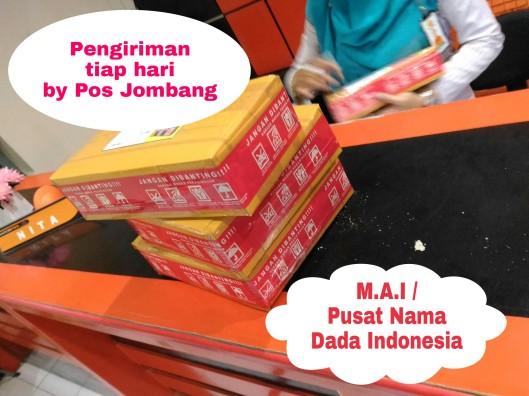 pengiriman Tiap hari kami by pos Jombang