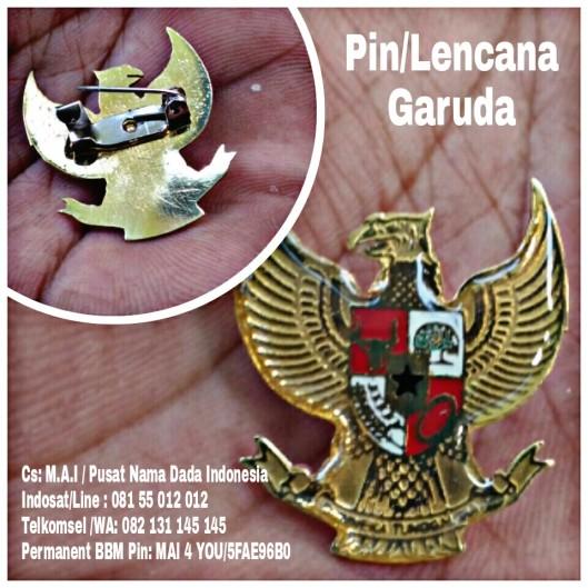 Pin, Lencana Logam, Garuda