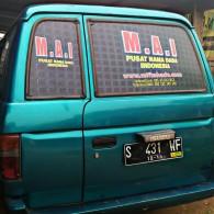 Sapa Kami, ketika kami sedang Dijalan, Mobil Bisnis M.A.I Pusat nama dada Indonesia